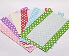 מעטפות נייר עם חלון שקוף