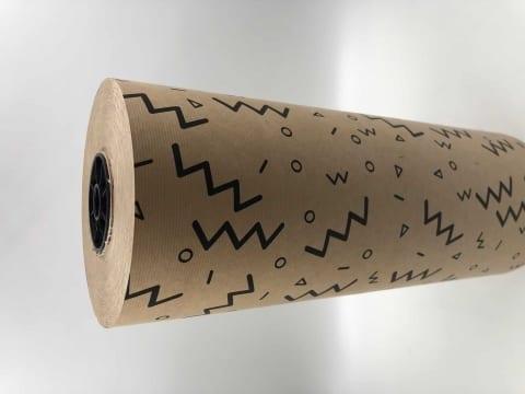 גליל נייר קרפט טבעי