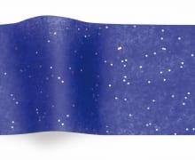 נייר משי כחול עם נצנצים