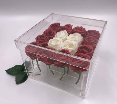 קופסא לסידור פרחים