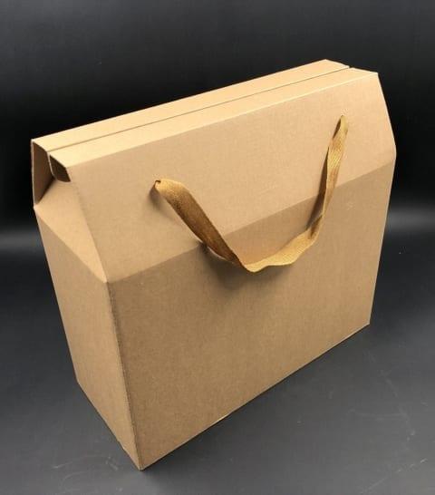 קופסת תיק קרפט חום 28/25+11 MP-307