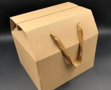 קופסת תיק קרפט חום 30/27+14 MP-308