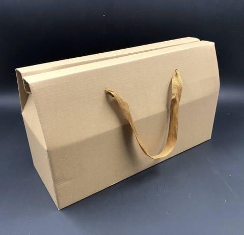 קופסת תיק קרפט חום 37/22+13 MP-309