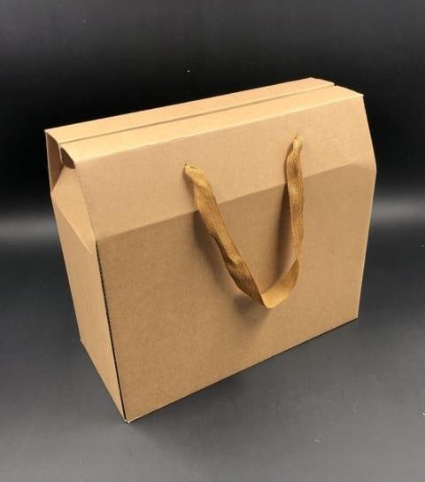 קופסת תיק קרפט חום 28/28+14.5 MP-310