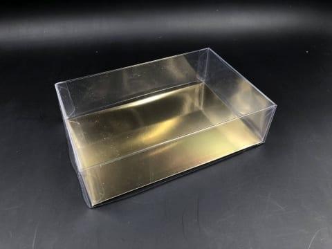 קופסת PVC + בסיס זהב 180/120/50