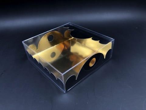 קופסת מרקיזה 150/150/50 - שחור/זהב מבריק