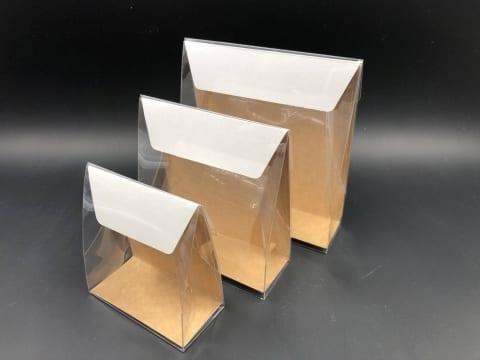 קלפה PVC רקע קרטון 100/110/50 - קרפט חום (25 בחב)