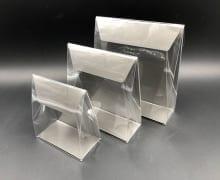 קלפה PVC רקע קרטון 160/170/50 - אפור מט (25 בחב)